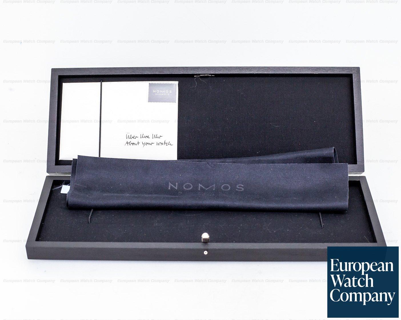 "Nomos 1109.565/100 Metro 38.5 ""Hodinkee Limited Edition"" Chronometer"