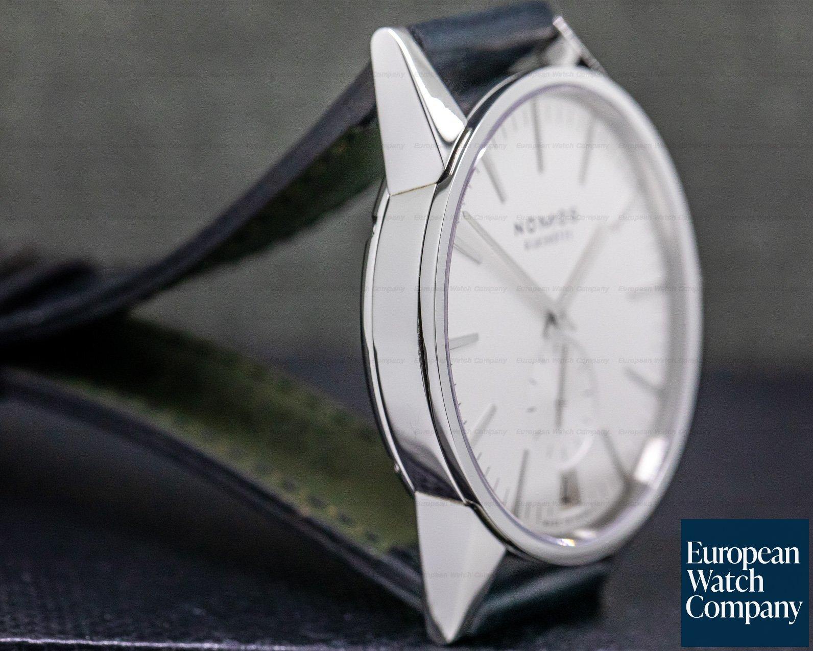 Nomos NO802 Zurich Datum SS Silver Dial