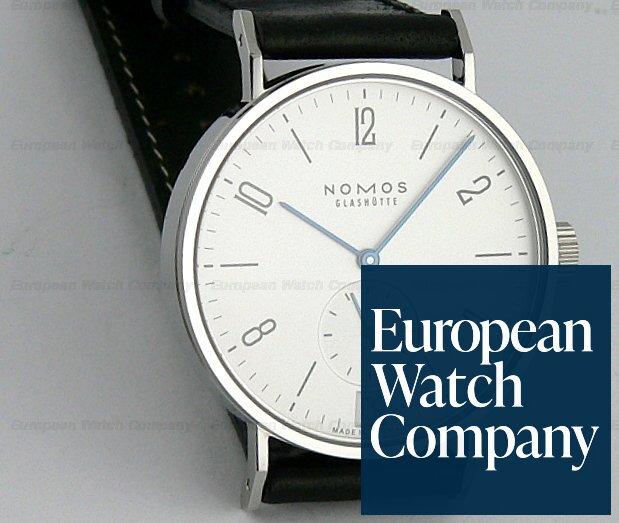 Nomos Tangomat w/ date, White Dial Steel Ref.