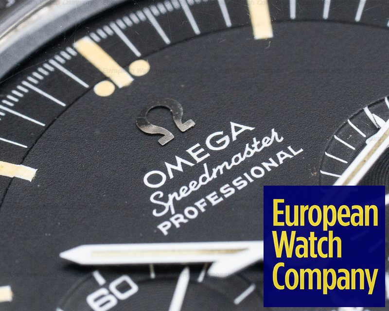 Omega 105.012-66 Vintage Speedmaster Professional SS FADED BEZEL NICE