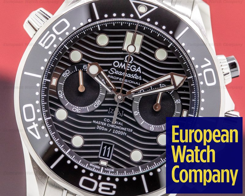 Omega 210.30.44.51.01.001 Seamaster Professional Chronograph Black Dial Co-Axial SS