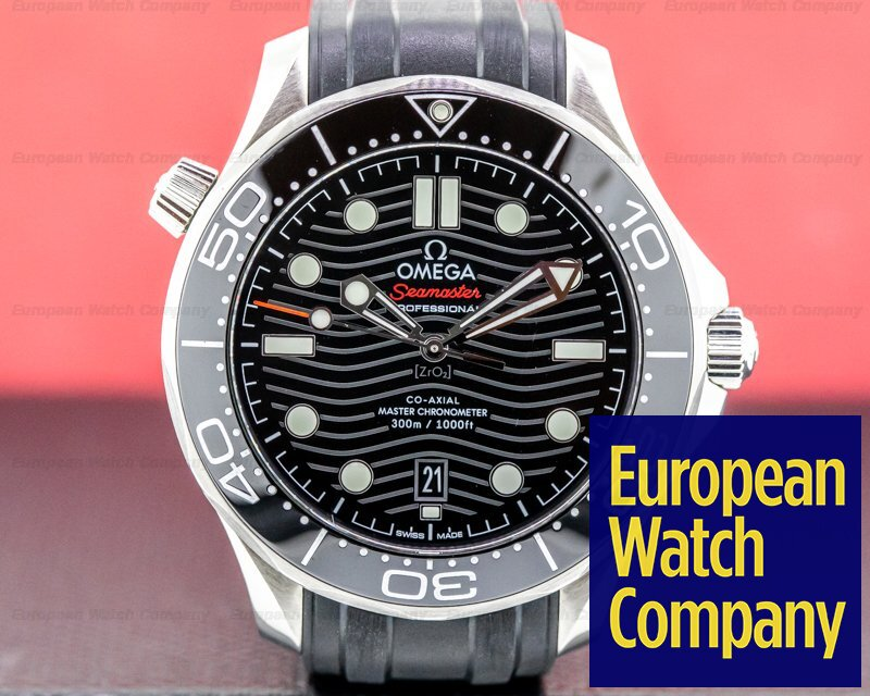 Omega 210.32.42.20.01.001 Seamaster Diver 300M Co-Axial Master Chronometer 42MM