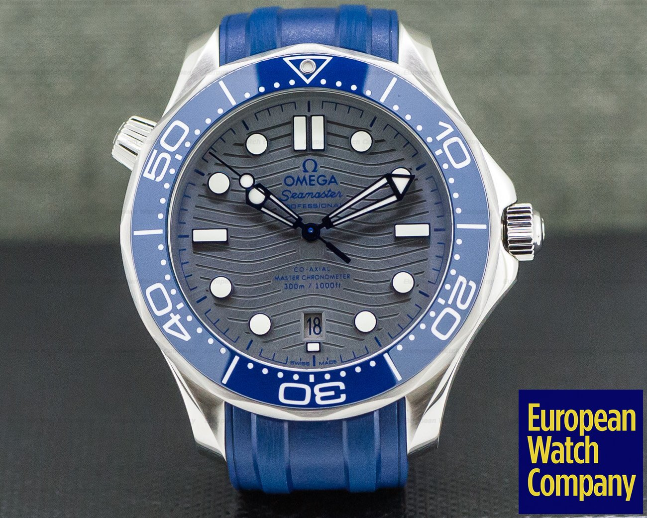 Omega 210.32.42.20.06.001 Seamaster Diver 300M Co-Axial Master Chronometer 42MM