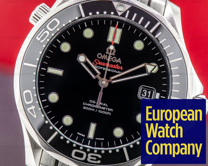 Omega 212.30.41.20.01.003 Seamaster Professional Black Dial Co-Axial SS / SS