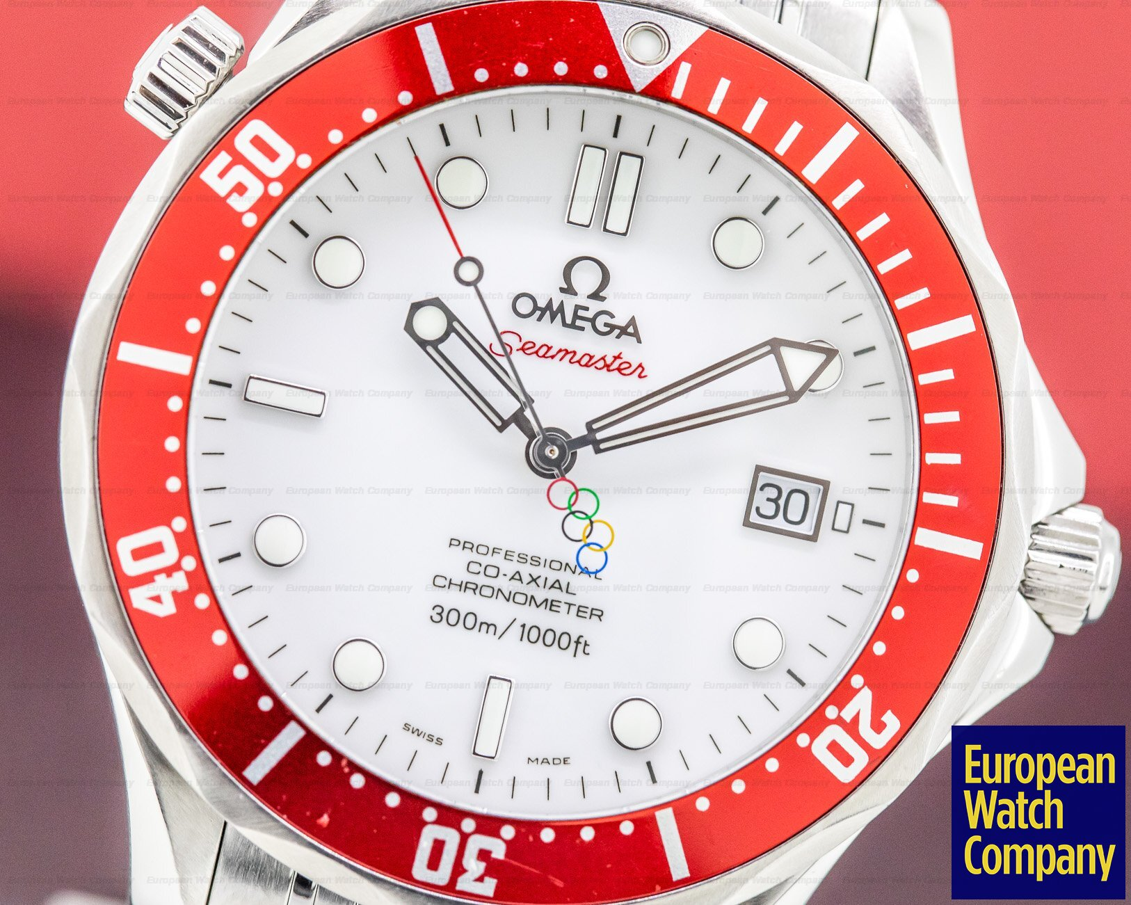 Omega 212.30.41.20.04.001 Seamaster Professional 2010 Vancouver Olympics Co-Axial Automatic