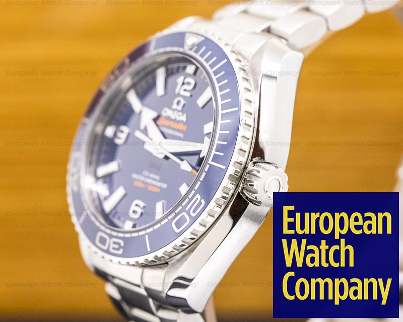 Omega 215.30.40.20.03.001 Seamaster Planet Ocean Co-Axial Blue Dial SS / SS 39.5MM