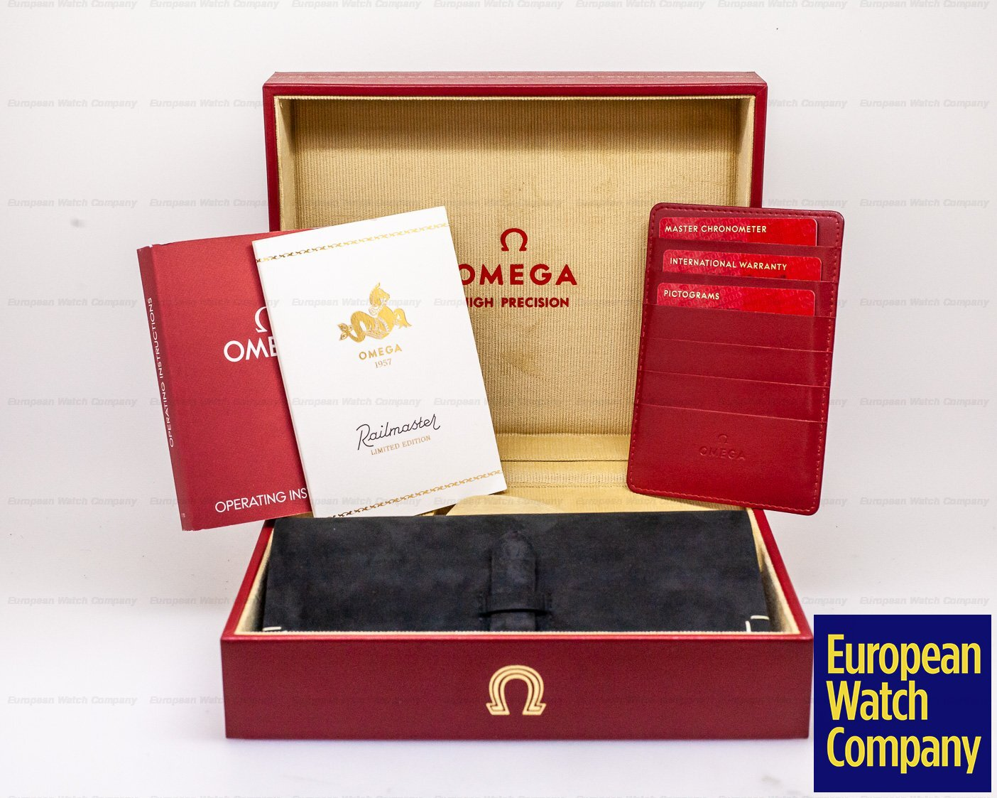 Omega 220.10.38.20.01.002 Railmaster 1957 Trilogy Limited Edition