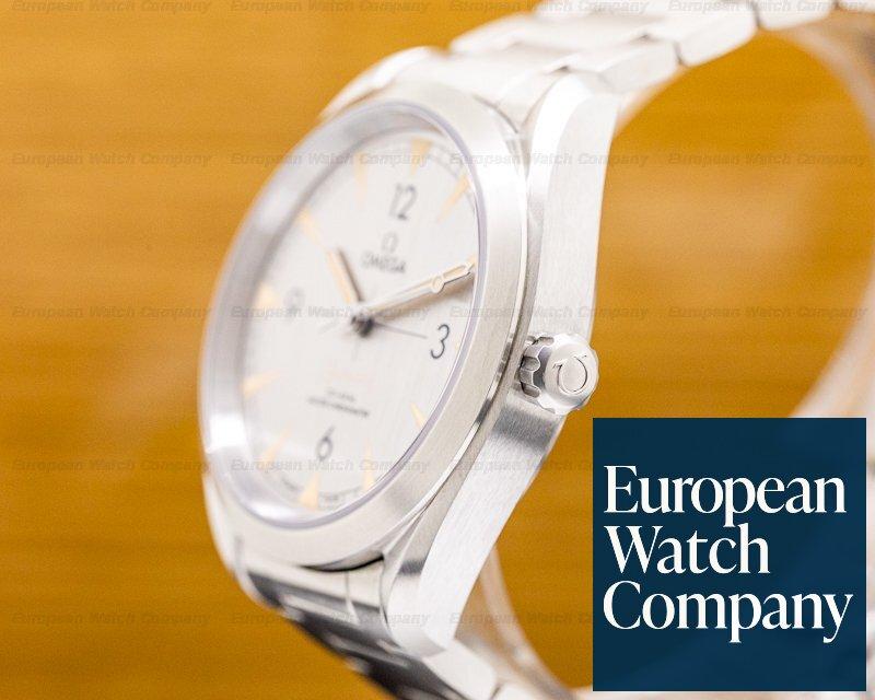 Omega 220.10.40.20.06.001 Railmaster Master Chronometer SS Co Axial Silver Dial