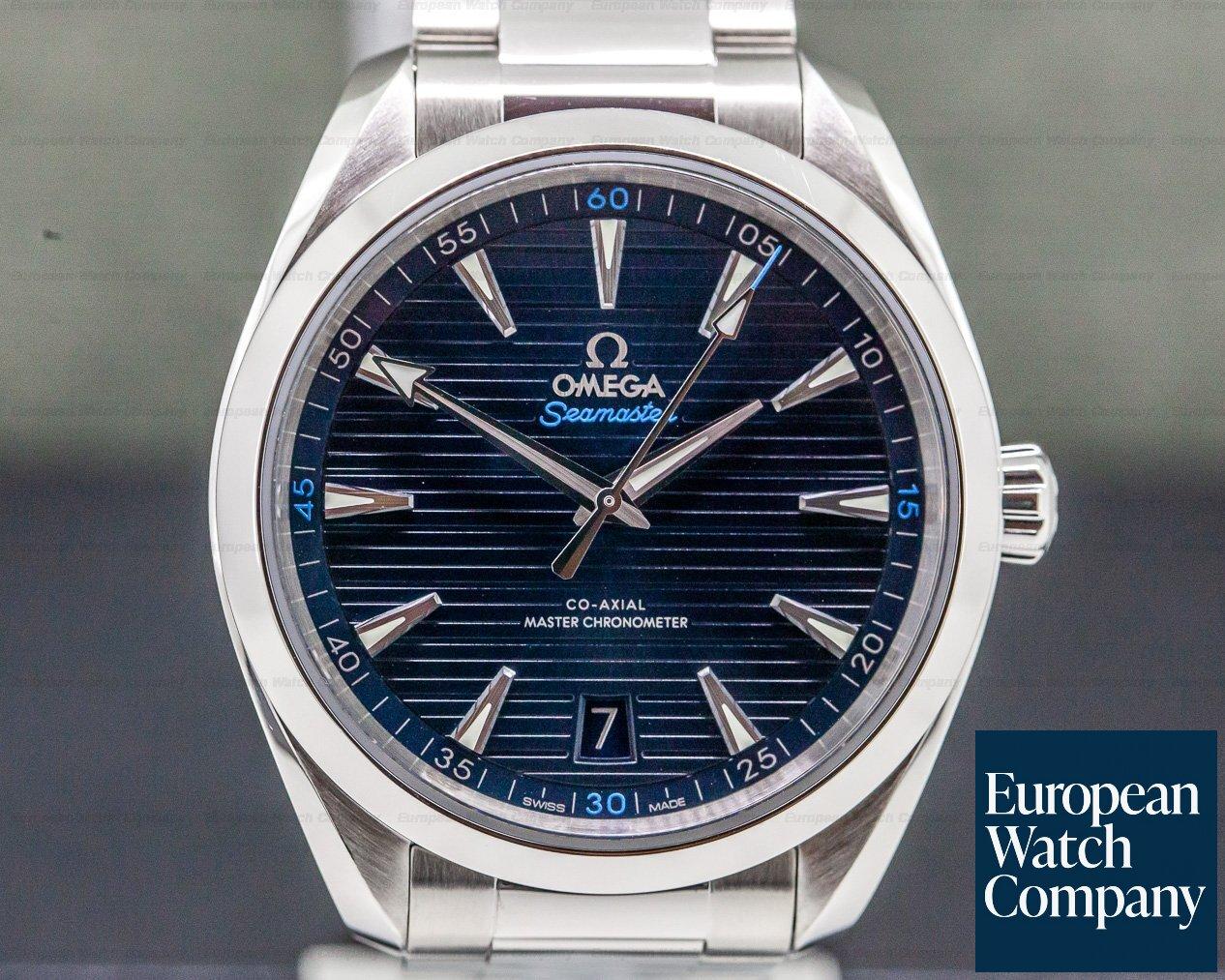 Omega 220.10.41.21.03.001 Seamaster Aqua Terra Co-Axial Master Blue Dial SS / SS 41mm