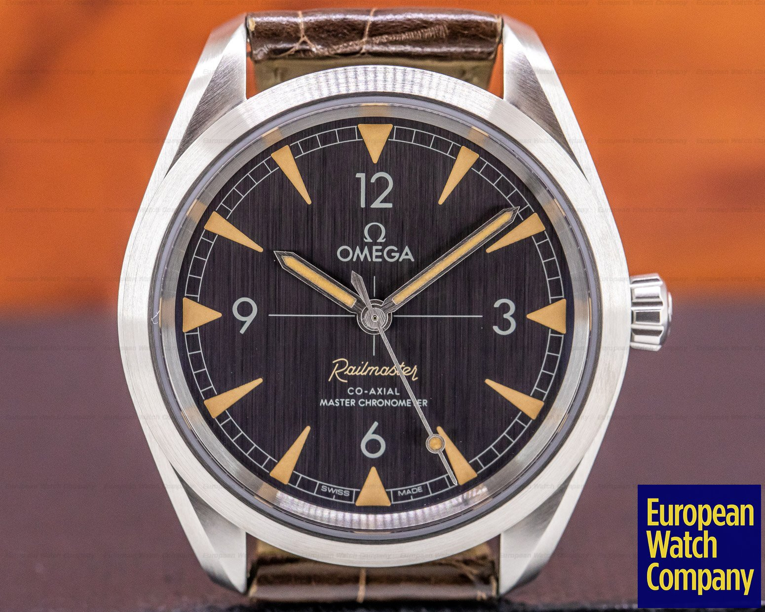 Omega 220.12.40.20.01.001 Railmaster Master Chronometer SS Co Axial