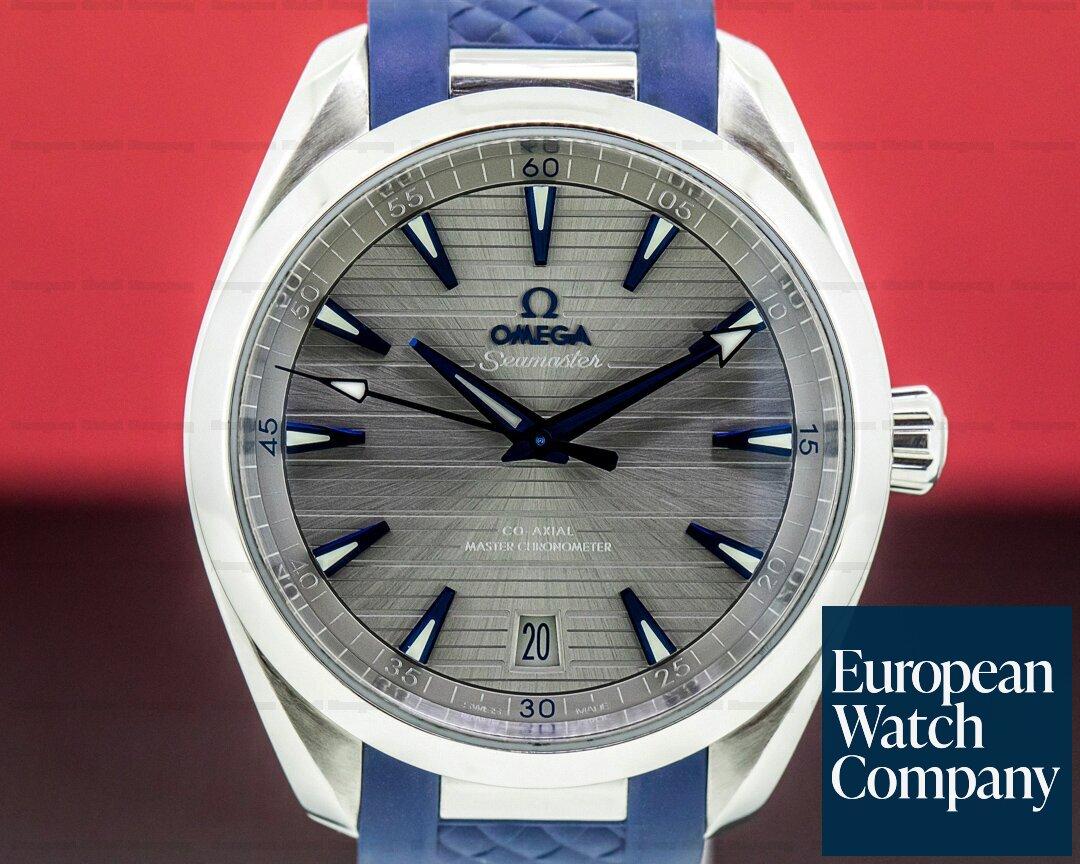 Omega Seamaster Aqua Terra 150M Master Co-Axial 41MM SS / Rubber Ref. 220.12.41.21.06.001