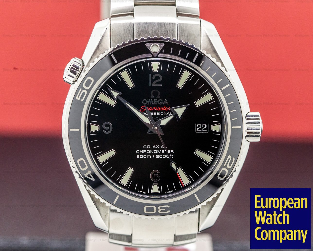 Omega 222.30.42.20.01.001 Seamaster Planet Ocean Co-Axial Liquid Metal Limited Series