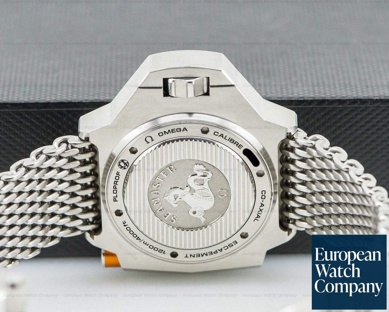 Omega 224.30.55.21.04.001 Seamaster PloProf 1200M White Dial SS / Bracelet