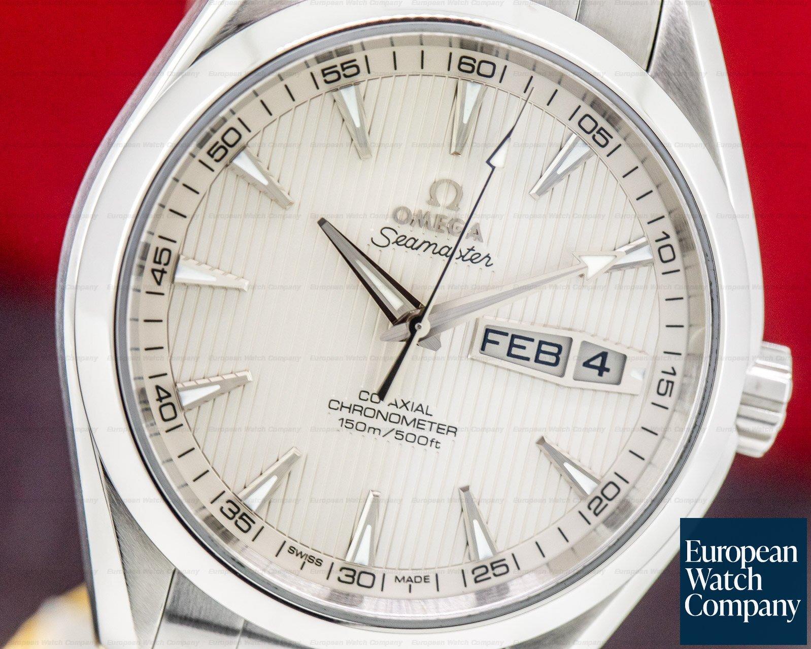Omega 231.10.43.22.02.001 Aqua Terra Annual Calendar Co-Axial 150M SS / SS