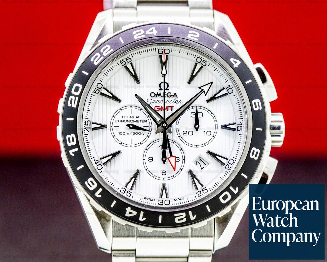 Omega Seamaster Aqua Terra 150M GMT Chronograph SS/SS Ref. 231.10.44.52.04.011