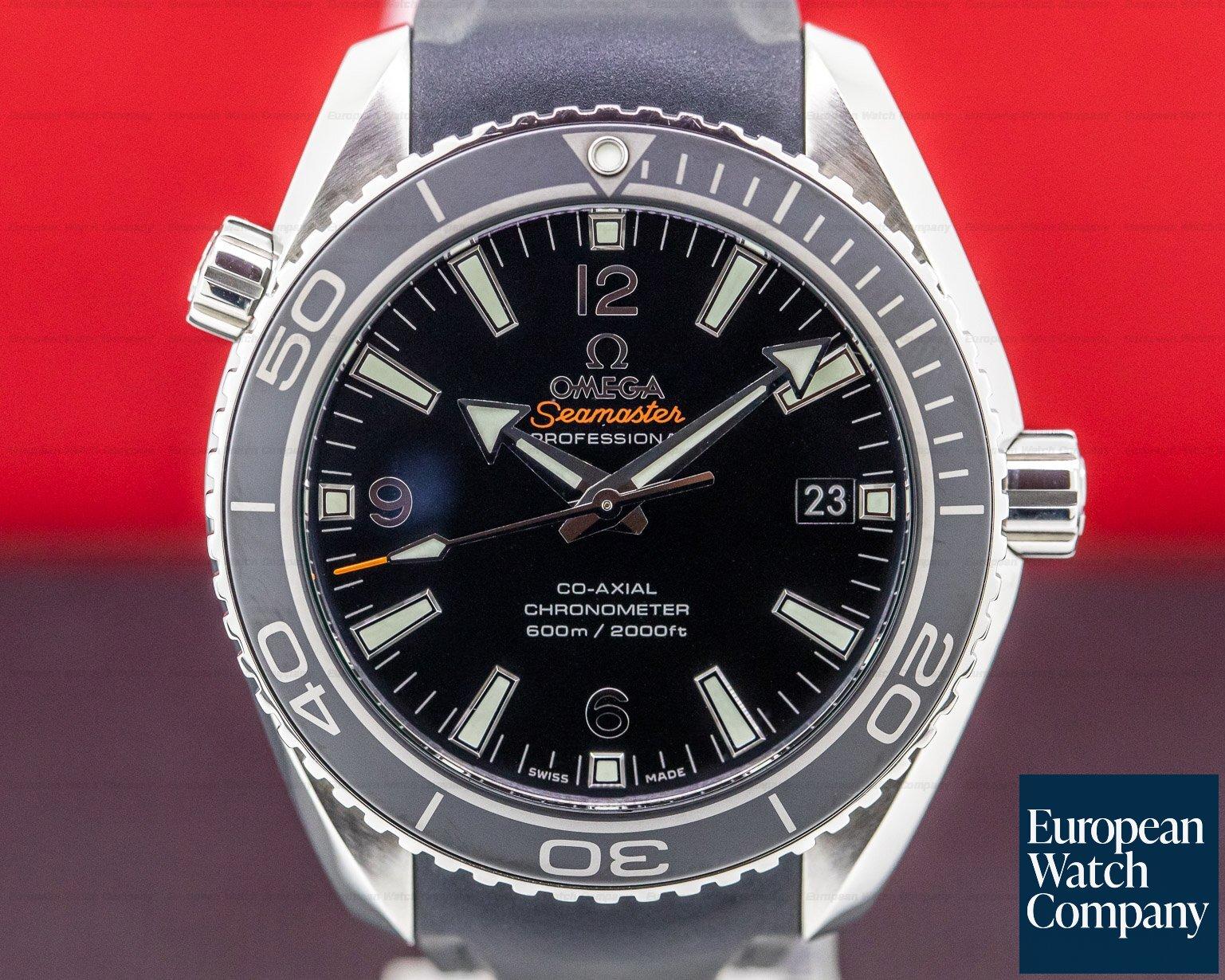 Omega 232.32.42.21.01.003 Seamaster Planet Ocean SS / Rubber 42MM