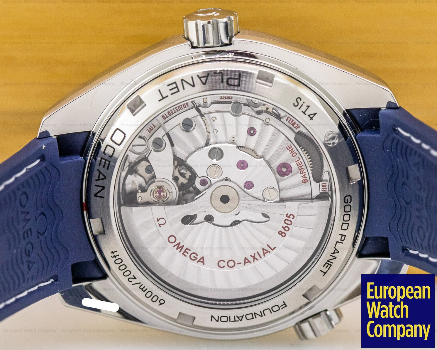 Omega 232.32.44.22.03.001 Seamaster Planet Ocean Good Planet GMT 600M Co-Axial Blue Dial