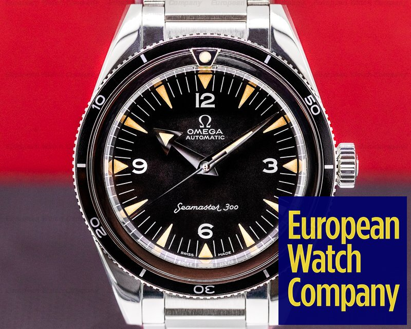 Omega 234.10.39.20.01.001 Omega Seamaster 300 1957 - 60th Anniversary Limited Edition Trilogy