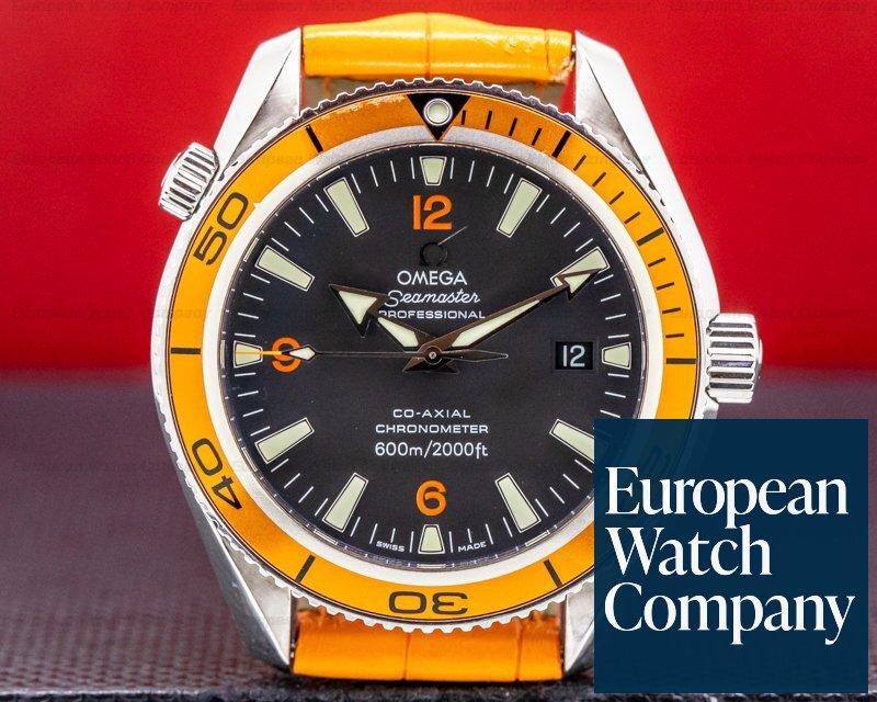 Omega 2909.50.38 Seamaster Planet Ocean Orange Bezel SS Deployant