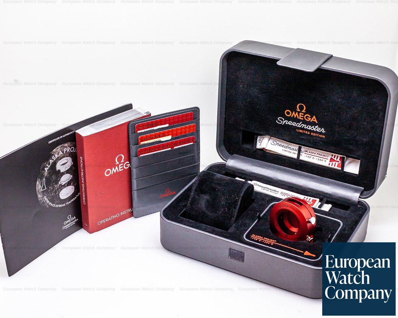 Omega 311.32.42.30.04.001 Speedmaster Professional Alaska Project SS
