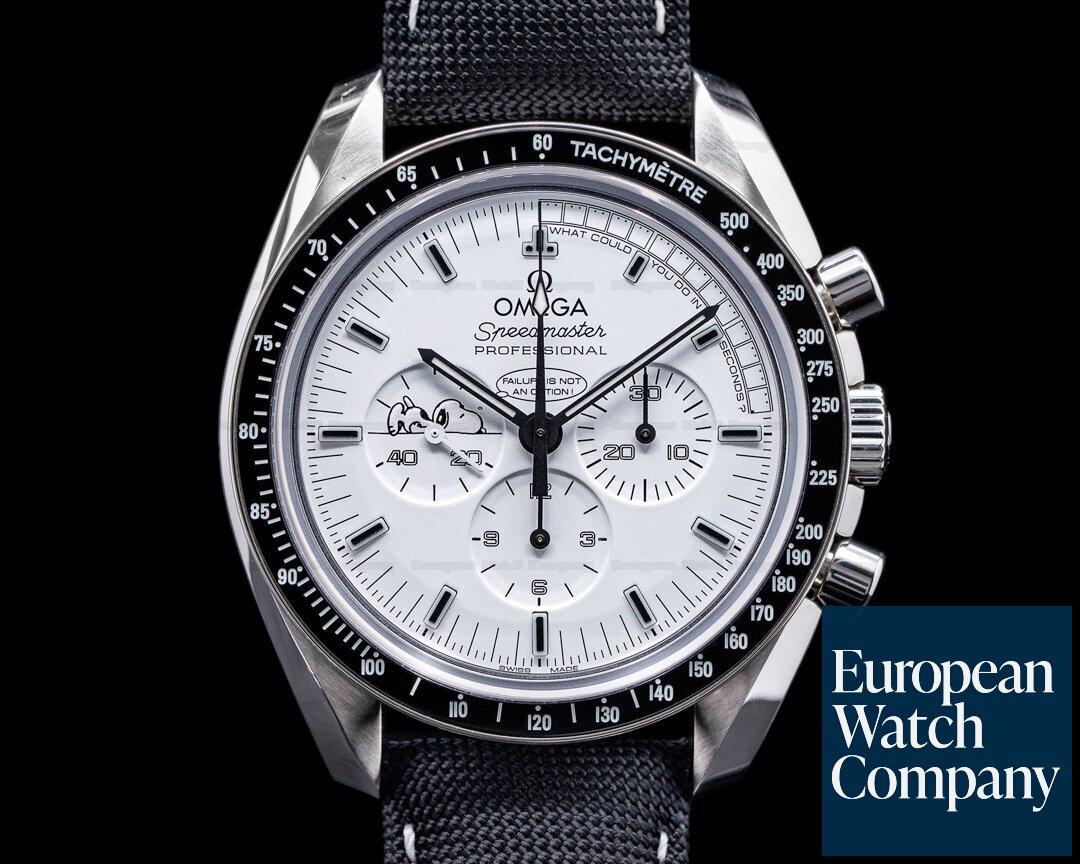 Omega 311.32.42.30.04.003 Speedmaster Professional Apollo XIII Silver Snoopy Award