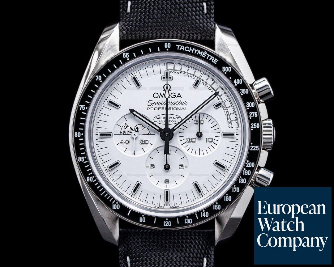 Omega 311.32.42.30.04.003 Speedmaster Professional Apollo XIII Silver Snoopy Award FULL SET