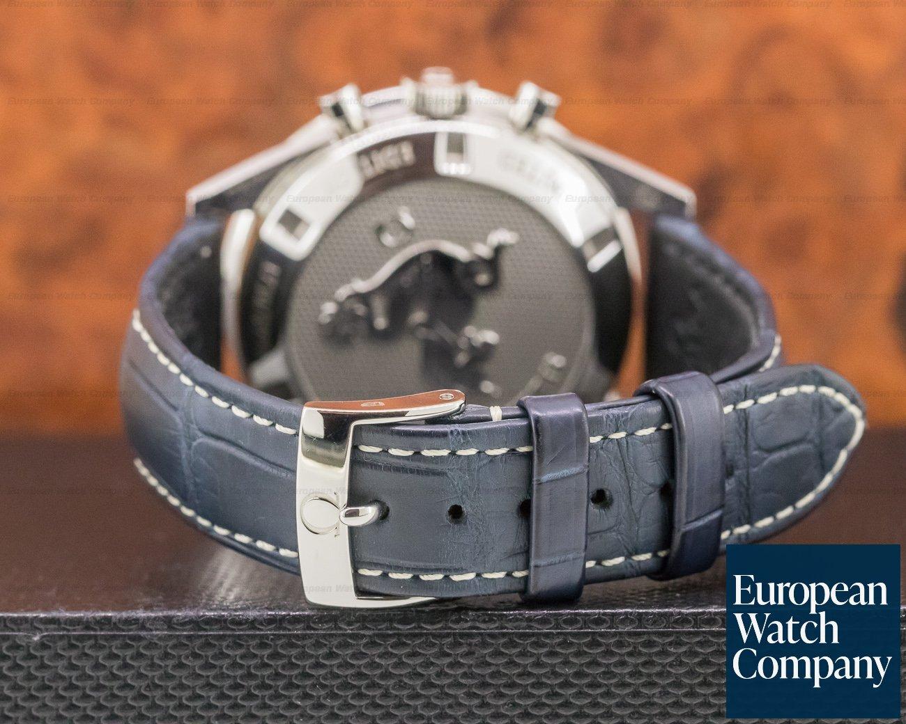 Omega 311.33.40.30.02.001 Speedmaster CK 2998 Silver / Blue Dial LIMITED