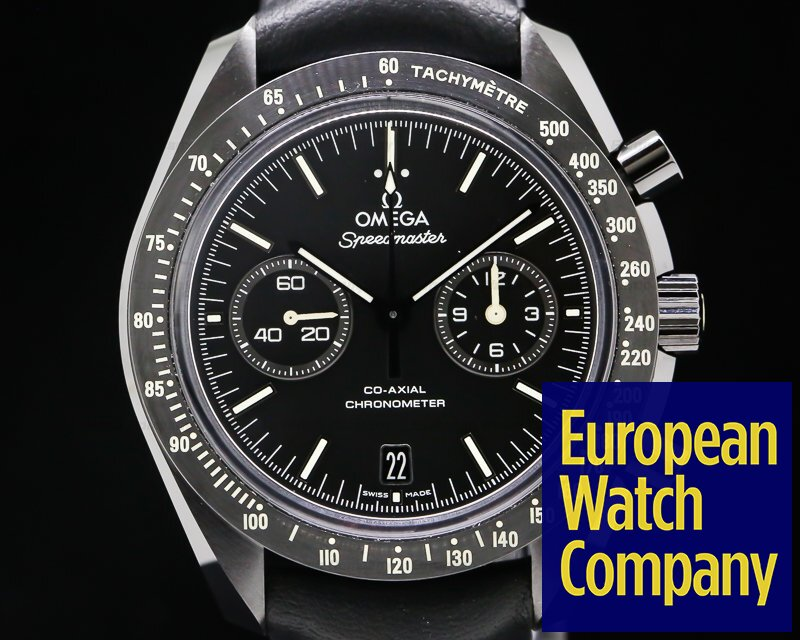 "Omega 311.92.44.51.01.004 Dark Side of the Moon ""Pitch Black"" Ceramic Black Dial"