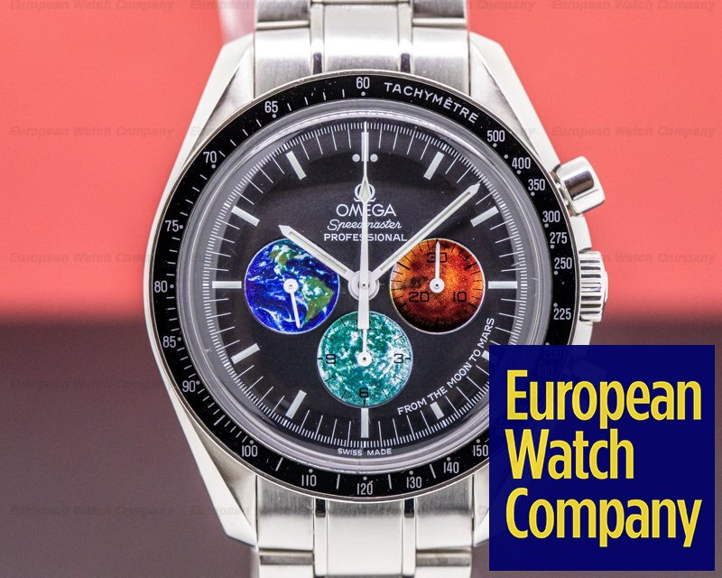 "Omega 3577.50.00 Speedmaster Professional ""Moon To Mars"""