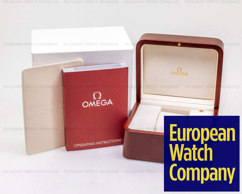 Omega 431.13.41.21.03.001 Co Axial Chronometer SS / Leather