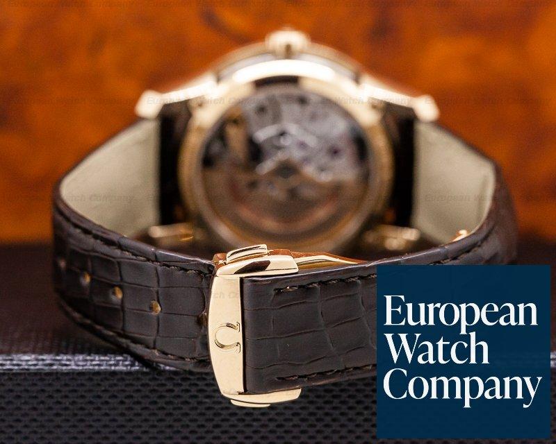 Omega 431.63.41.21.13.001 DeVille Hour Vision Co-Axial Chronometer 18K/Deployant