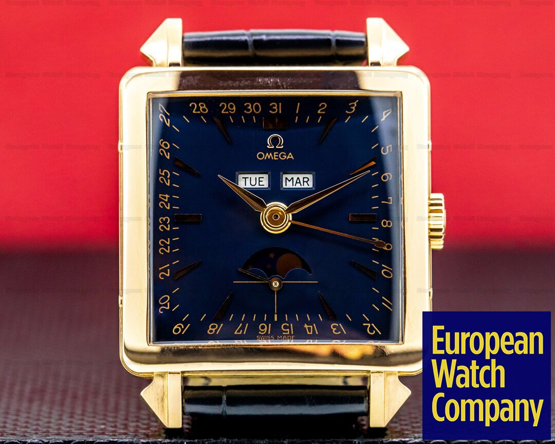 Omega Museum Collection Re-Edition 1951 Cosmic Watch Rose Gold Ref. 5705.30.01