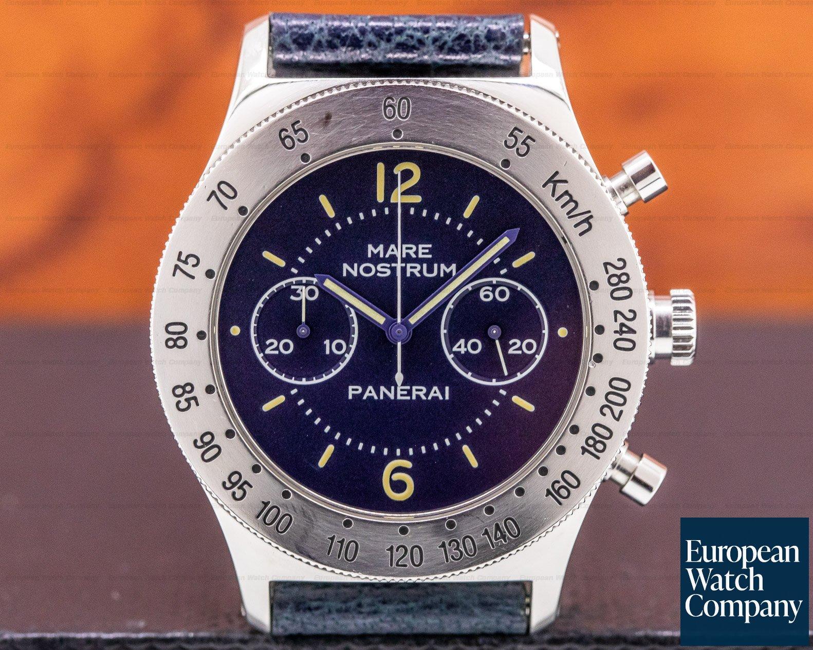 Panerai 5218-301/A Mare Nostrum Pre Vendome SS Blue Dial