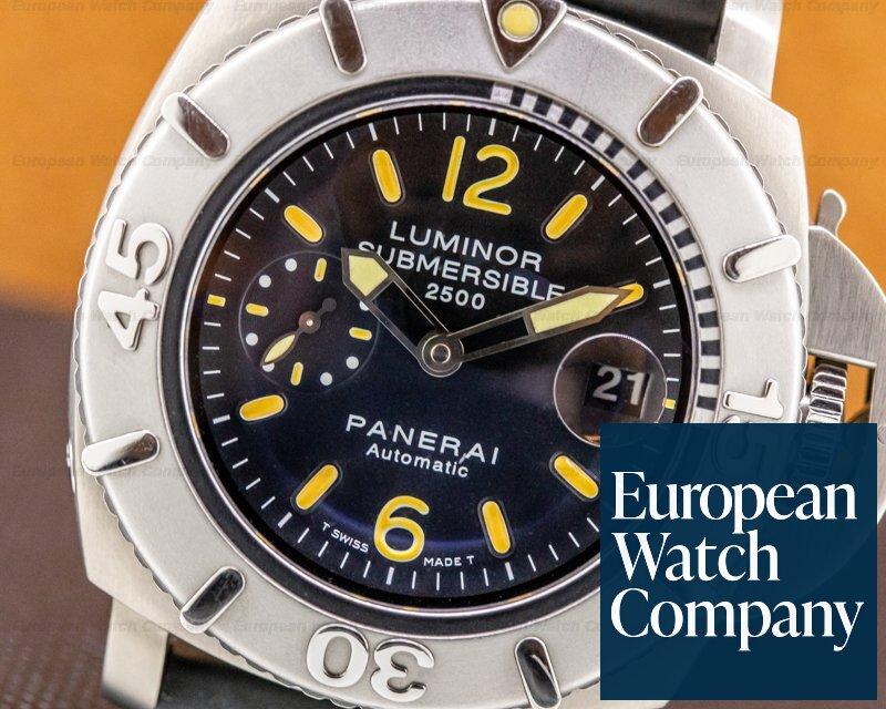 Panerai PAM000194 Luminor Submersible SS Limited to 1000 Pieces VERY NICE