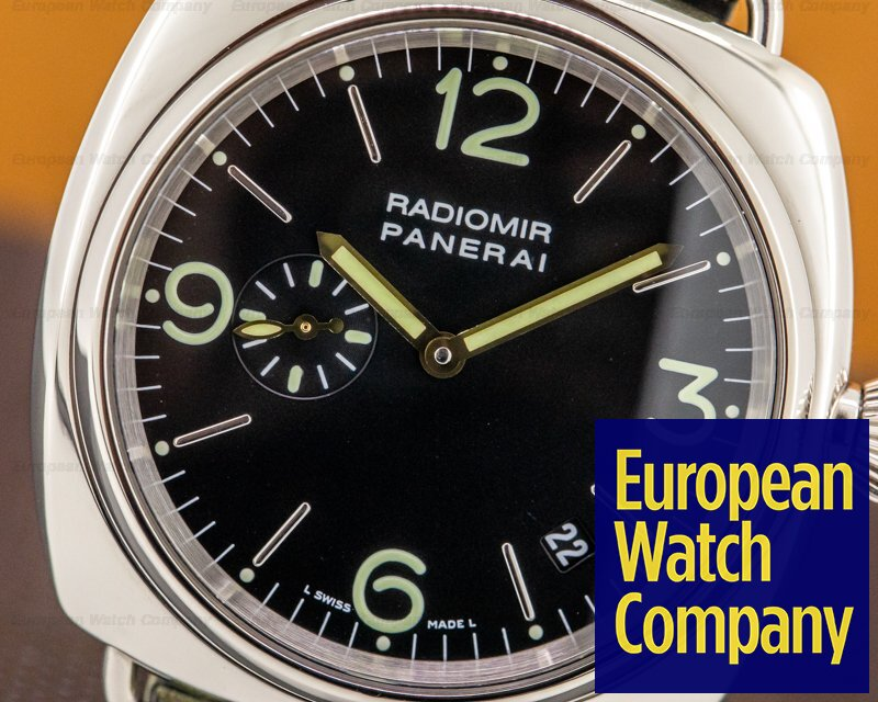 Panerai PAM00062 Radiomir 18k White Gold 40MM Limited