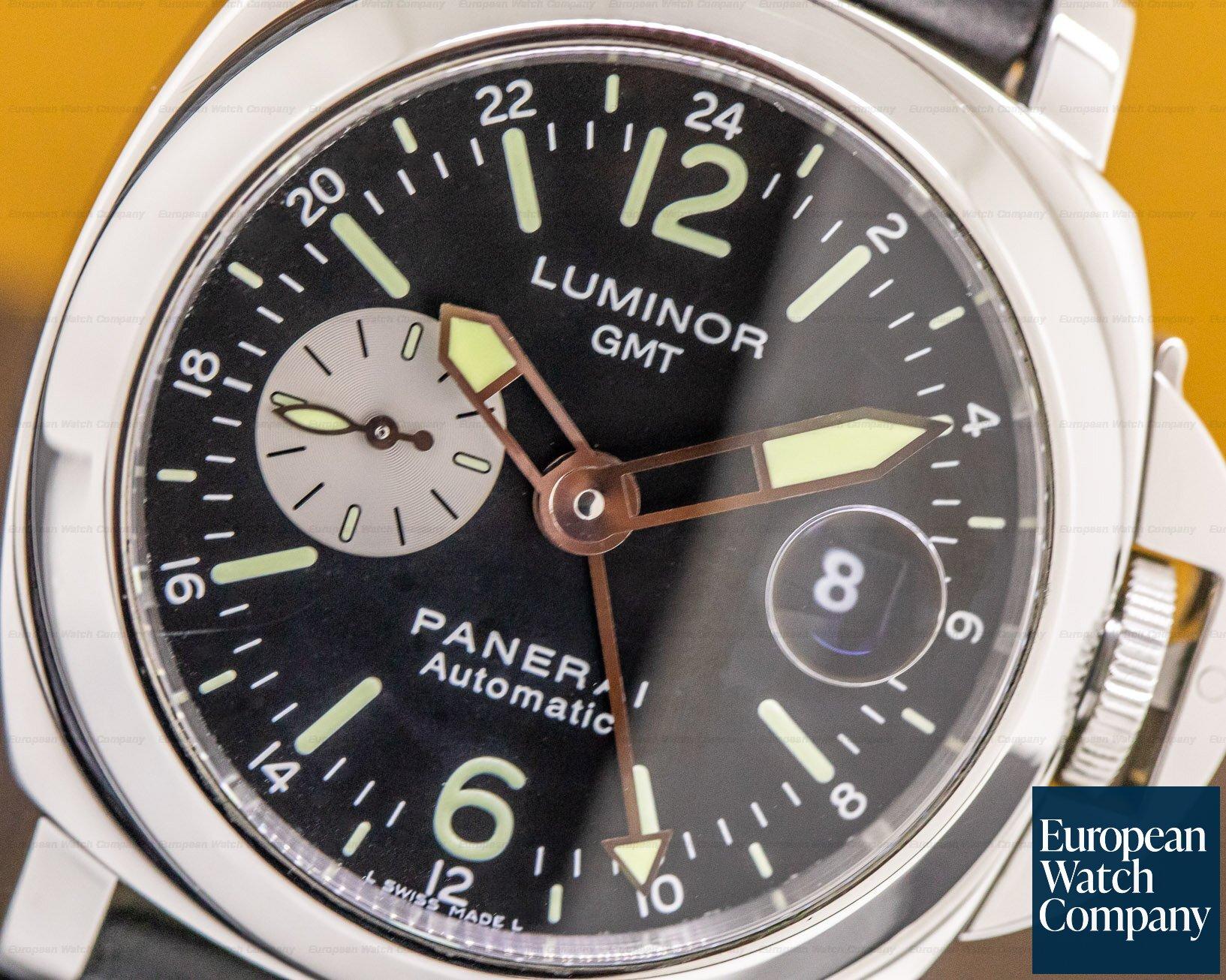 Panerai PAM00088 Luminor GMT SS