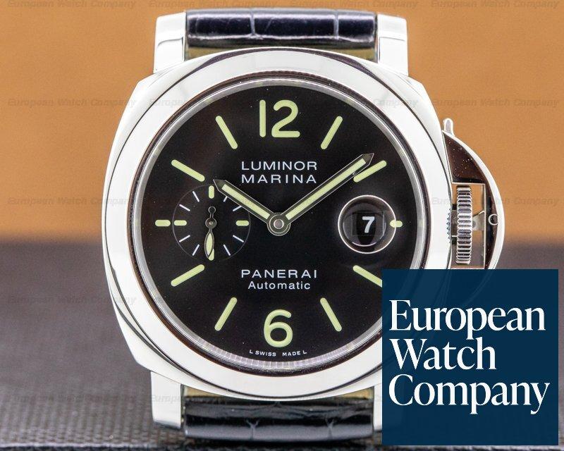 Panerai PAM00104 Luminor Automatic SS Black Dial