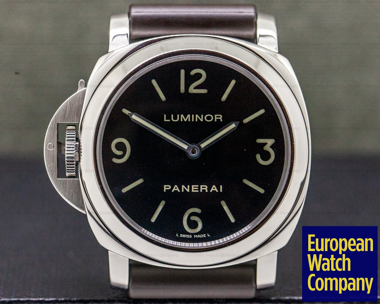 Panerai PAM00219 Luminor Base Destro Left Handed SS