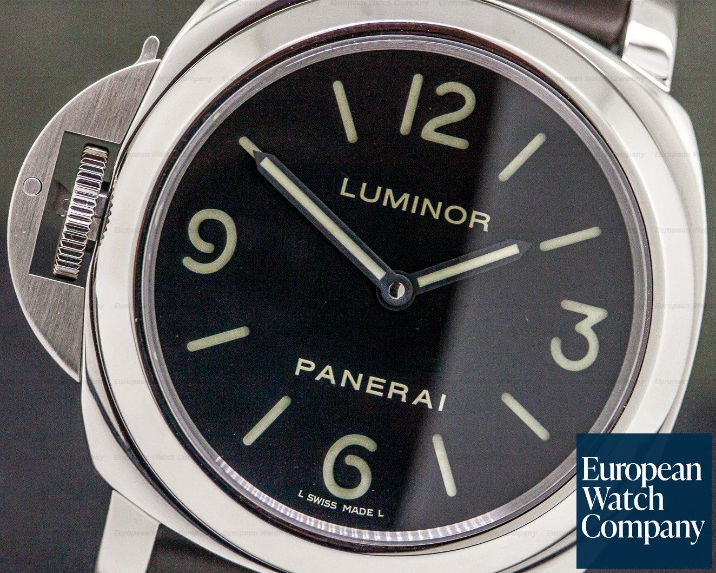 official photos 07f00 eed0d 31796) Panerai PAM00219 Luminor Base Destro Left Handed SS
