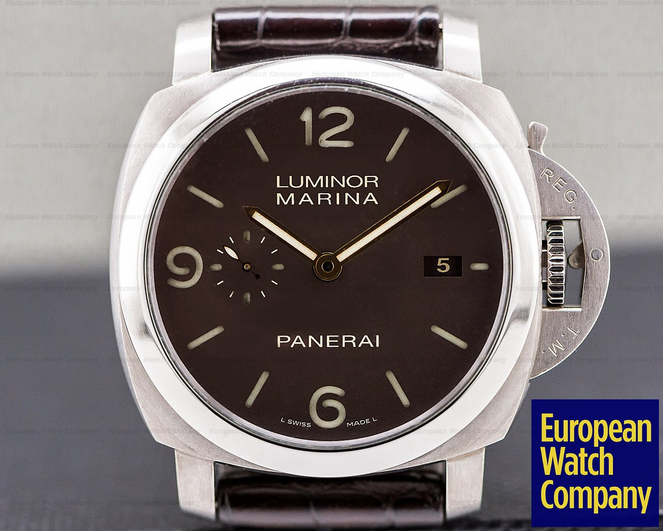 Panerai PAM00351 Luminor Marina 1950 3 Day Automatic / Titanium