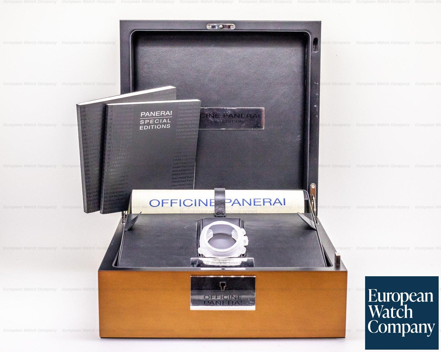 "Panerai PAM00496 Radiomir 10 Days GMT Automatic ""Oro Bianco"" 45MM White Gold LIMITED"