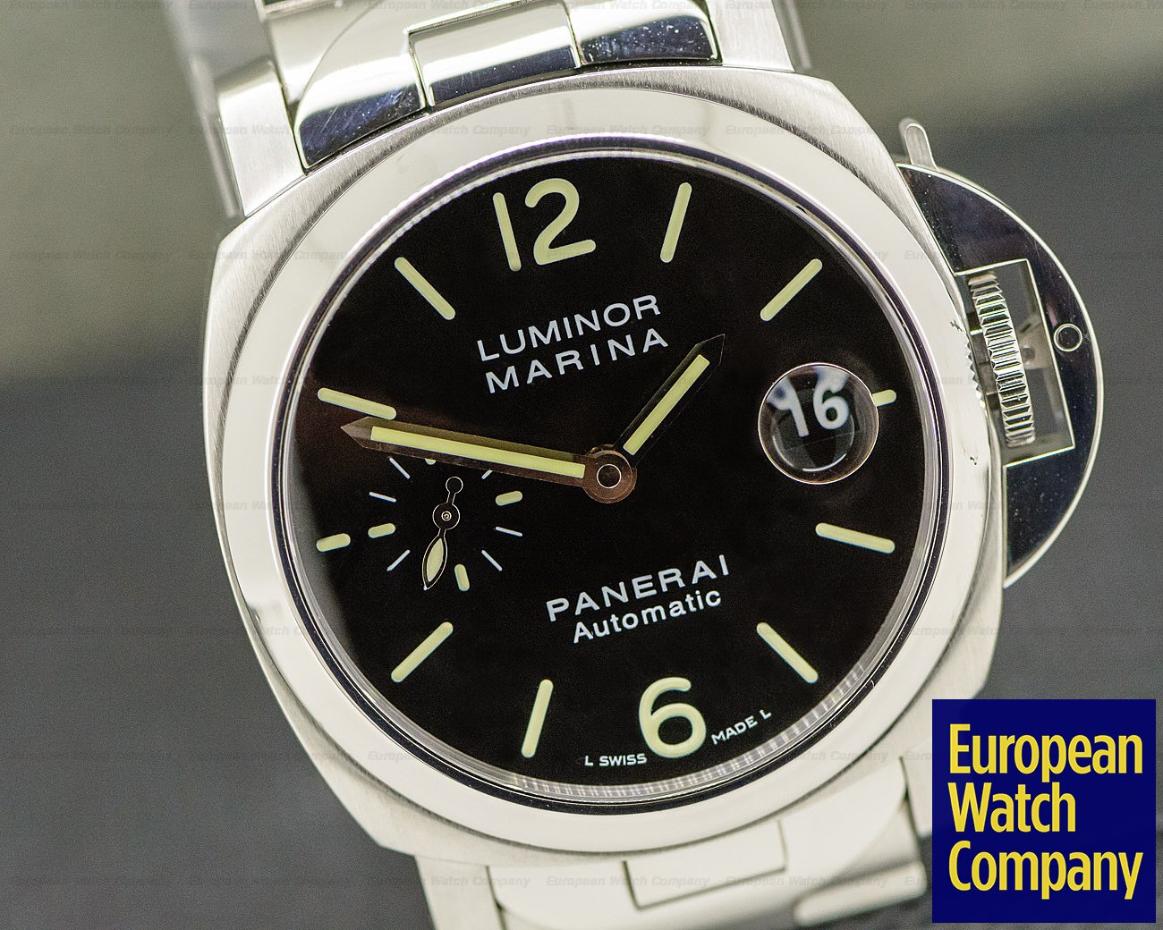 Panerai PAM0050 Luminor Marina Automatic SS / SS 40MM
