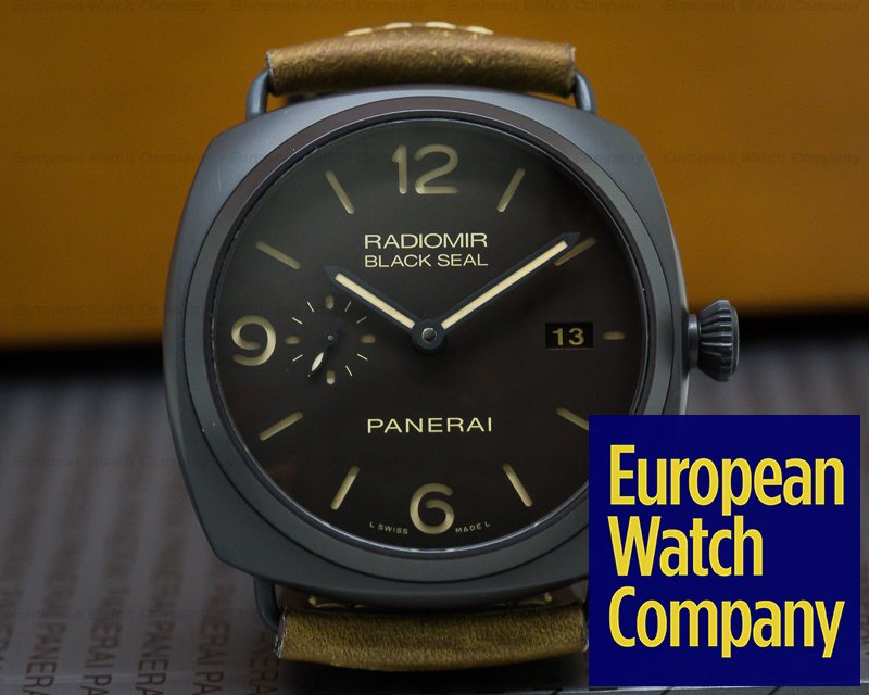 Panerai PAM00505 Radiomir Composite Black Seal 3 Day Automatic