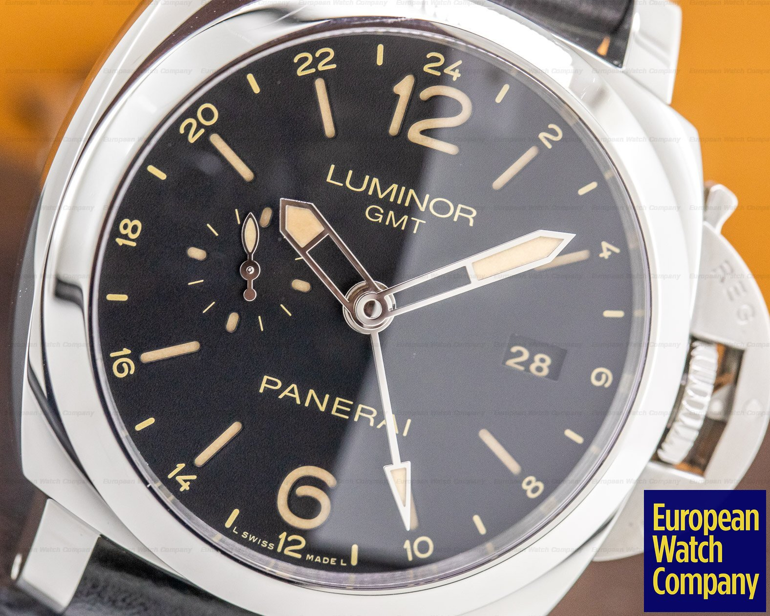 Panerai PAM00531 Luminor 1950 3 Dauys GMT 24H Automatic 44mm