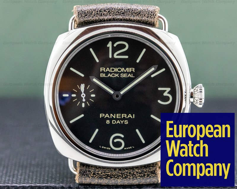 Panerai PAM00609 Radiomir Black Seal 8 Days Manual Wind Stainless Steel