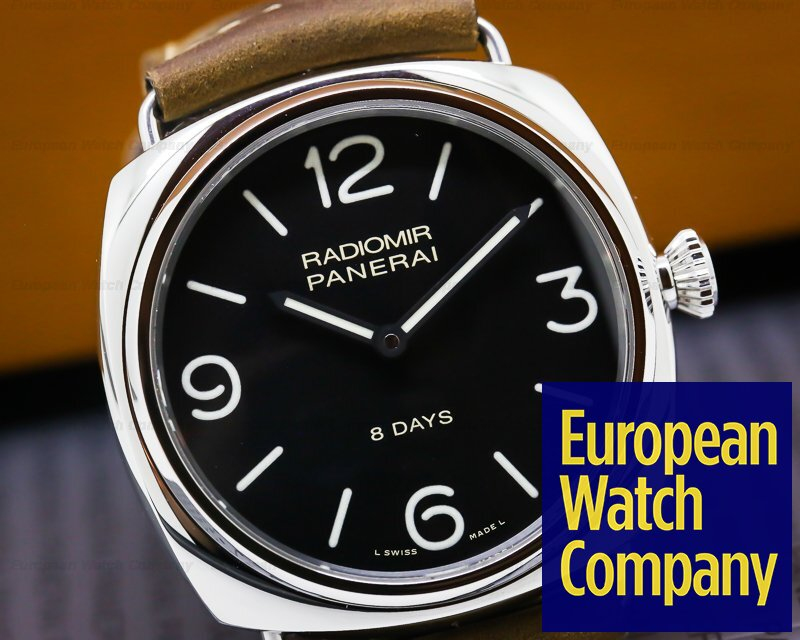 Panerai PAM00610 Radiomir 8 Days Manual Wind Stainless Steel
