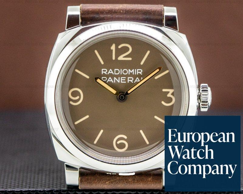 Panerai Radiomir 1940 3 Days Acciaio SS 47MM Sandwich Dial Ref. PAM00662