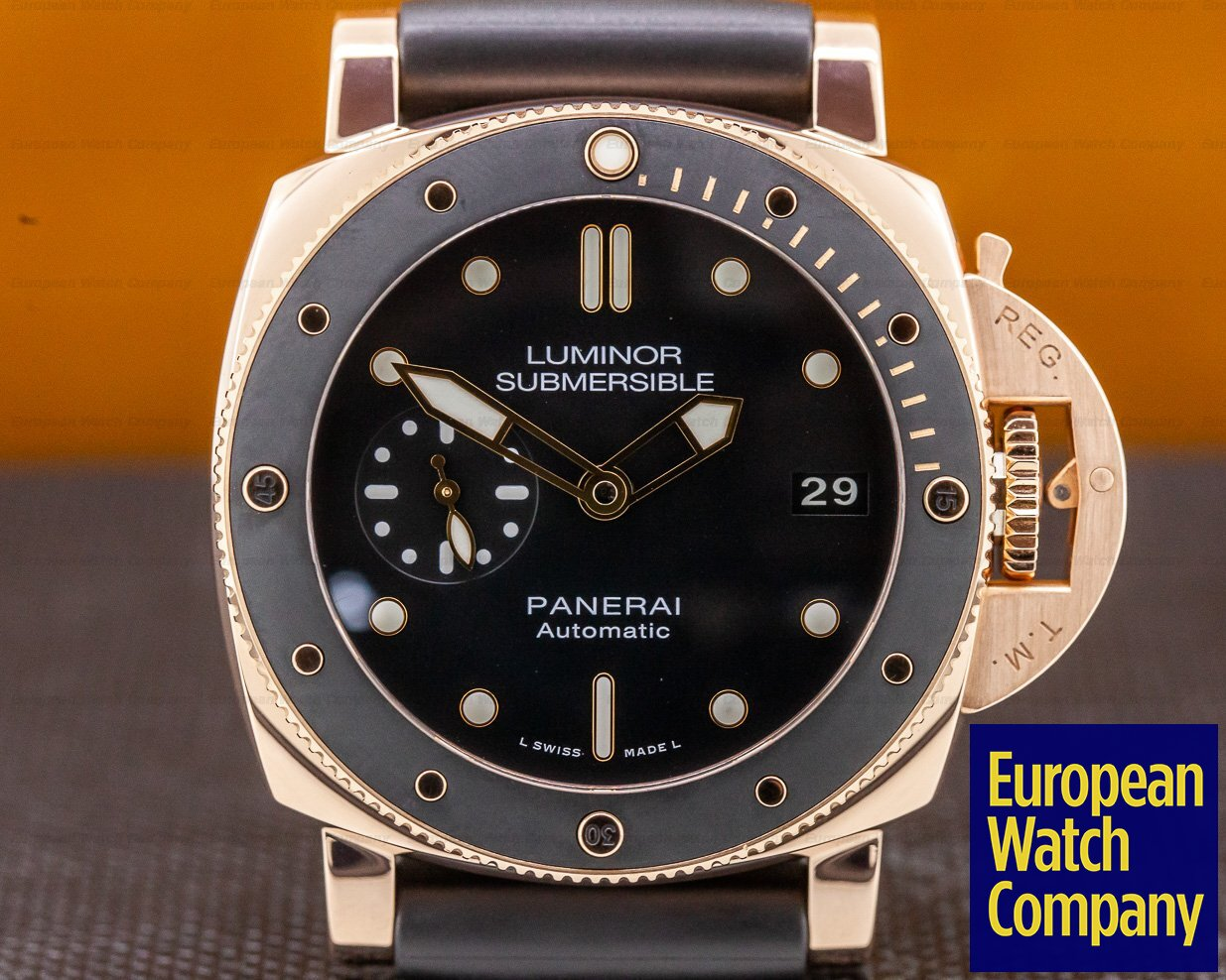Panerai PAM00684 Luminor Submersible Rose Gold 42MM