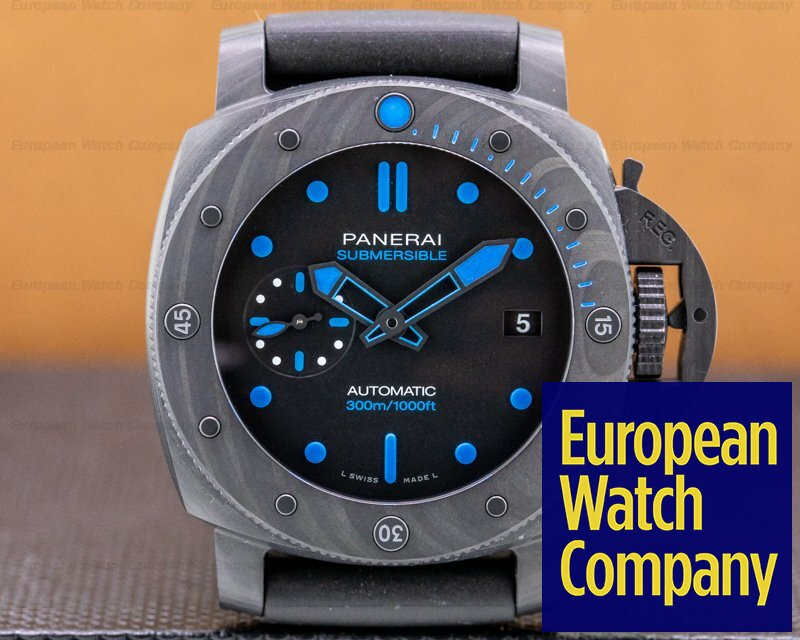 Panerai PAM00960 Submersible Carbotech 3 Days Automatic UNWORN