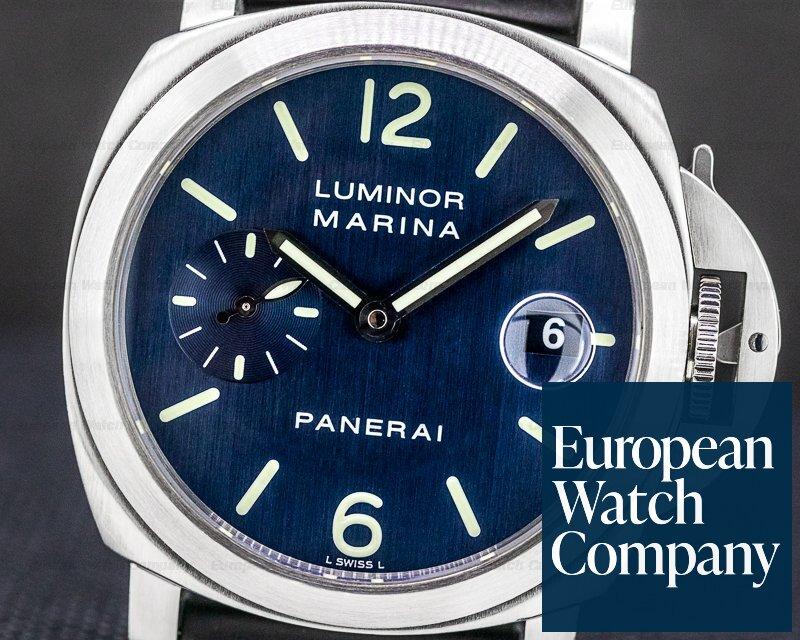 Panerai PAM070 Luminor Marina Blue Dial 40MM D Series (2002)